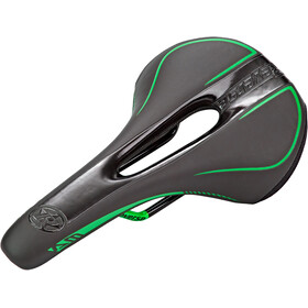 Reverse AM Ergo Sadel, black/neon green